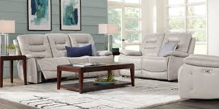 100 2 Sofa Living Room Carini Stone Leather Pc With Reclining