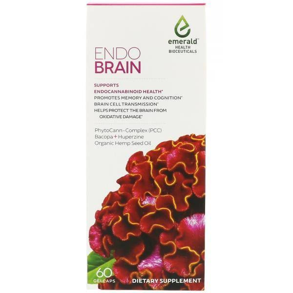 Emerald Endo Brain Dietary Supplement - 60 Capsules