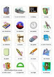 comment on dit bureau en anglais 358 best fle école images on classroom