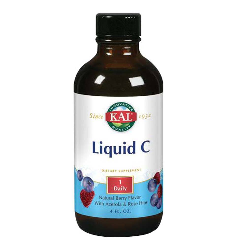Kal Liquid C Vitamins - 4oz