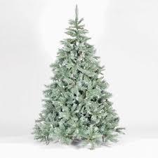 Christmas Tree Flocking Spray Uk by Flocked Christmas Trees Christmas Trees U0026 Lights