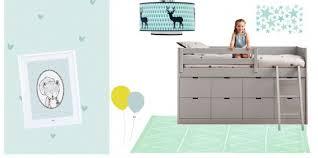 chambre enfant vert chambre garçon du bleu vert et gris pour la déco de chambre