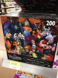 Walmart 32 Fiber Optic Christmas Tree by 8 For Disney Villain Puzzle Found At Walmart Wish List