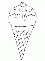 Ice Cream Sundae Coloring Pages 720