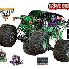 Grave Digger - Huge Officially Licensed Monster Truck Removable Wall ...