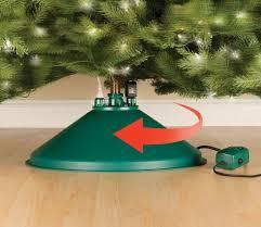 Warm Pre Lit Rotating Artificial Christmas Trees Chritsmas Decor