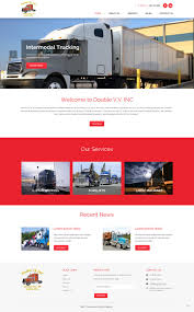100 Intermodal Trucking Companies Masculine Upmarket Company Web Design For Internet