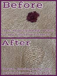 How To Fix Bleach Stains On Carpet by Homemade Super Stain Remover U0026 Deodorizer Fights Tough Red Wine