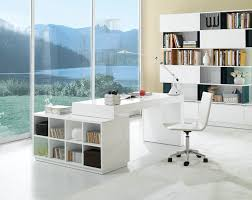 Jesper Office Desk 500 by S005 Modern Office Desk White High Gloss Available For Purchase At