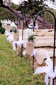 Wedding IdeasFall Aisle Decor Rustic Fall