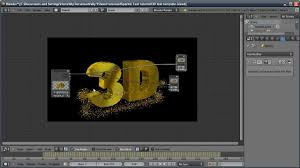 Blender Tutorial SparkleGlitter Text Blender Video Editing