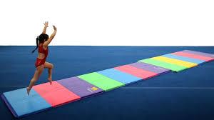 gymnastics floor mats uk tumbl trak tumbling mats for gymnastics cheer special needs