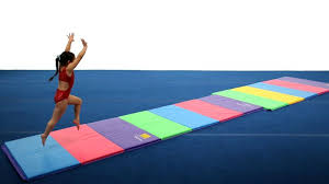 Gymnastic Floor Mats Canada by Tumbl Trak Tumbling Mats For Gymnastics Cheer Dance Special Needs
