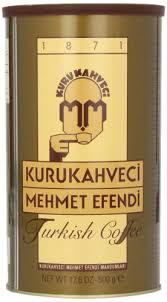 Amazon Mehmet Efendi Turkish Coffee 500 Gram Can Ground Grocery Gourmet Food