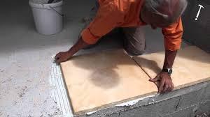 faire une dalle exterieur réaliser une terrasse en reconstituée bricolage avec
