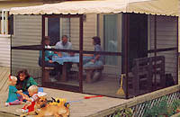 patio mate 10 panel screen enclosure 09322 screen room kits home wall attached screenrooms patio mate