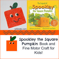 Spookley The Square Pumpkin Activities Pinterest by Fun Halloween Crafts For Kids