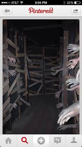 Scary Halloween Props For Haunted House by Tunnel Out Of Pallets Halloween Pinterest Pallets Halloween