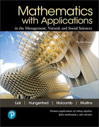 Mathematics With Applications In The Management Natural And Social Sciences 12th Edition