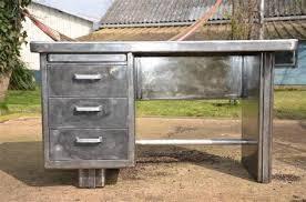 bureau strafor meuble en bois et fer forge 10 bureau ch234ne massif huil233