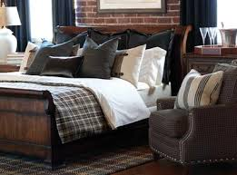 Grey Black Plaid Bedding Sets Barclay Butera