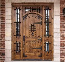 Rustic Arched Top Doors Model Vienna