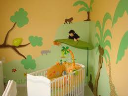 chambre bebe jungle déco chambre bébé jungle