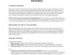 Do Objectives For A Resume Objective Examples General Statement