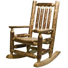 Image Of Rustic Rocking Chairs Style