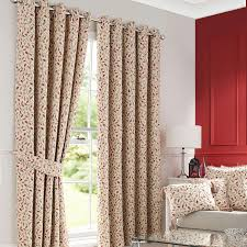 Lined Curtains For Bedroom by Heritage Terracotta Glava Lined Eyelet Curtains Dunelm Autumn
