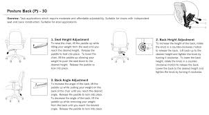 Neutral Posture Chair Instructions by Allseating Chiroform Midback Task Chair Ergoprise Com