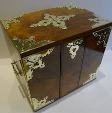 Cigar Cabinet Humidor Uk by Grand Large Antique English Walnut Cigar Box Cabinet Humidor