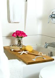 diy bathtub caddy with reading rack shower caddy for clawfoot tub clawfoot tub shower curtain