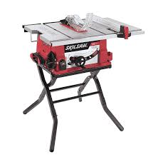 Kobalt 7 Wet Tile Saw With Stand by Skil 3410 02 10 Inch Table Saw With Folding Stand Power Table