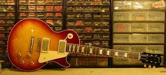 KTS Titanium Saddles For A Gibson Les Paul Guitar