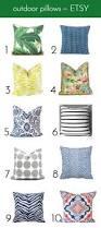 Decorative Outdoor Lumbar Pillows by Best 25 Outdoor Pillow Ideas On Pinterest Outdoor Cushions And