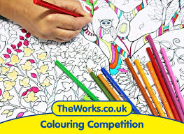 Colouring Competition Just For Grown Ups