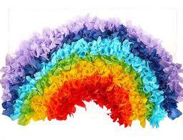 Tissue Paper Rainbow Intermissionsrainbow