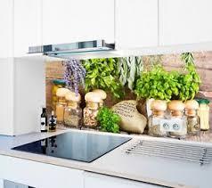 details zu küchenrückwand gewürze sp77 premium acrylglas fugenlos küche spritzschutz