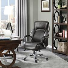 Sams Club Desk Chair by Serta Big U0026 Tall Executive Office Chair Brown Supports Up To 500