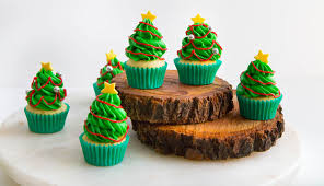 Recipe Christmas Tree Cupcakes