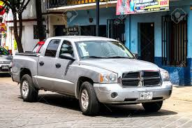 100 Dodge Dakota Truck OAXACA MEXICO MAY 25 2017 Pickup In The