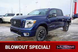 New Or Special Nissan Titan Truck For Sale Near Leduc, AB - L.A. Nissan