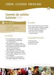 emploi commis de cuisine fiches des métiers hôtellerie restauration hôtellerie restauration