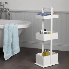 buy john lewis st ives 3 tier bathroom storage caddy john lewis