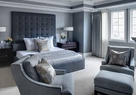 modele chambre photo déco chambre adulte ton gris deco maison moderne