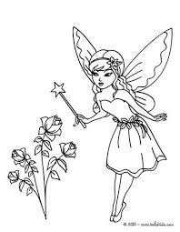Fairy Putting A Curse To Color