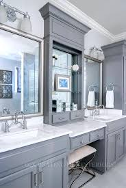 Double Vanity Bathroom Mirror Ideas by Two Vanity Bathroom Designsideas Cool Bathroom Mirrors For Double