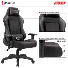 Amazon.com: Devoko Ergonomic Gaming Chair Racing Style Adjustable ... Rseat Gaming Seats Cockpits And Motion Simulators For Pc Ps4 Xbox Pit Stop Fniture Racing Style Chair Reviews Wayfair Shop Respawn110 Recling Ergonomic Hot Sell Comfortable Swivel Chairs Fashionable Recline Vertagear Series Sline Sl2000 Review Legit Pc Gaming Chair Dxracer Rv131 Red Play Distribution The Problem With Youtube Essentials Collection Highback Bonded Leather Ewin Computer Custom Mercury White Zenox Galleon Homall Office