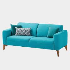studio copenhagen sofa bora ii türkis strukturstoff